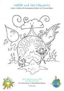 Hellie and the Elements Activity sheet