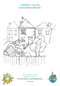 Hellie's House Activity sheet